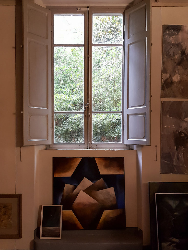 A Painting collector house in Toscana